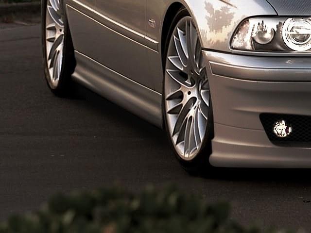Dokładki Progów BMW 5 E39 Mafia - GRUBYGARAGE - Sklep Tuningowy